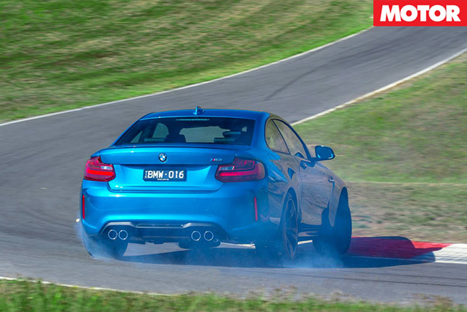 Bmw m2 rear driving