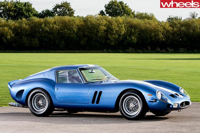 1962-Ferrari -250-GTO-side -front