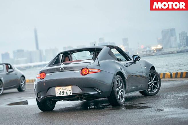 Mazda MX-5 RF rear