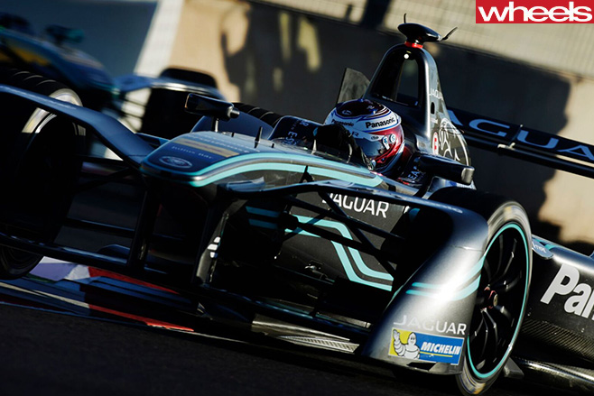 Jaguar -electric -Formula -E-car