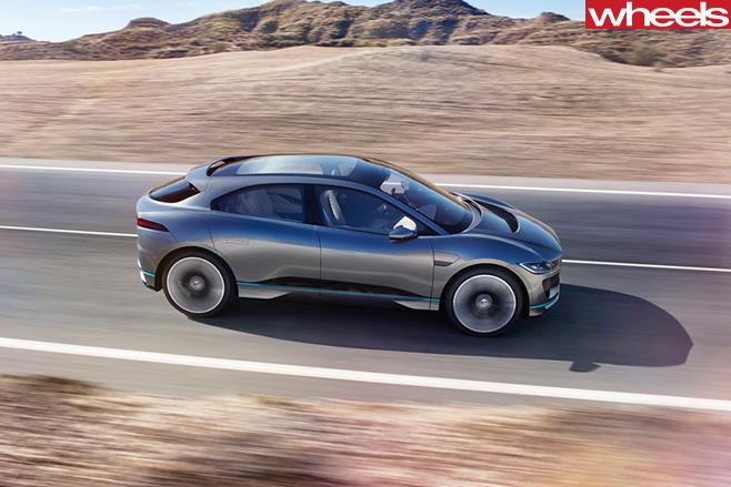 Jaguar -i Pace -driving -side -rear