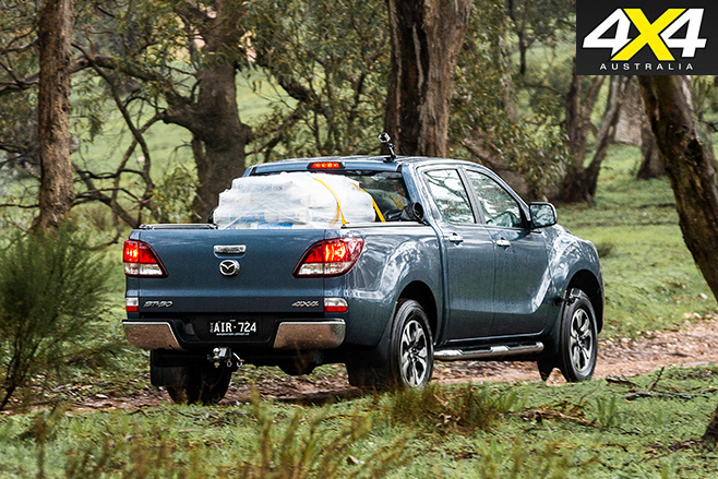 2016 Mazda BT-50 loaded and driving