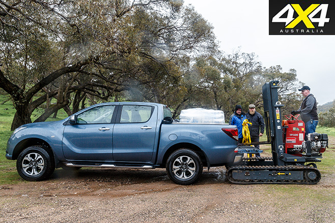 2016 Mazda BT-50 loaded