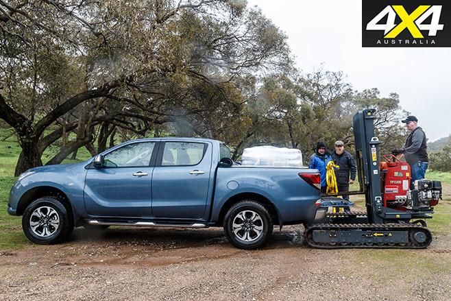 2016 Mazda BT-50 loaded
