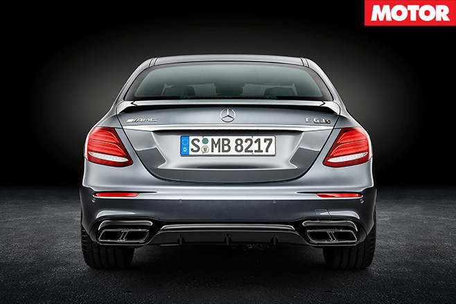 Mercedes -AMG-E63S-rear