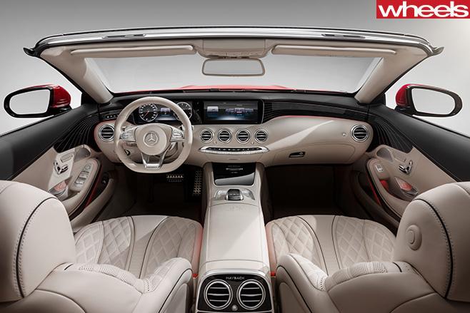 Mercedes -Maybach -convertible -interior