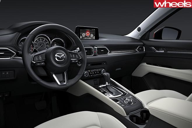 Mazda -CX-5-interior