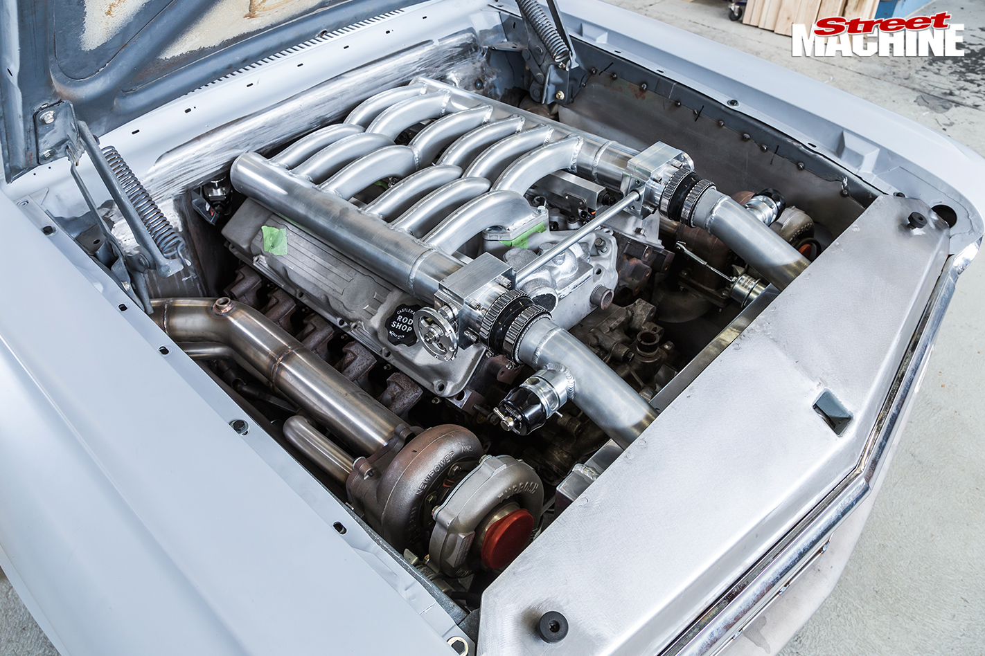 Castlemaine -rod -shop -engine