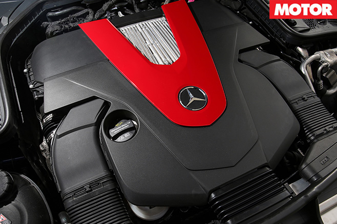 2016 Mercedes-AMG C43 engine