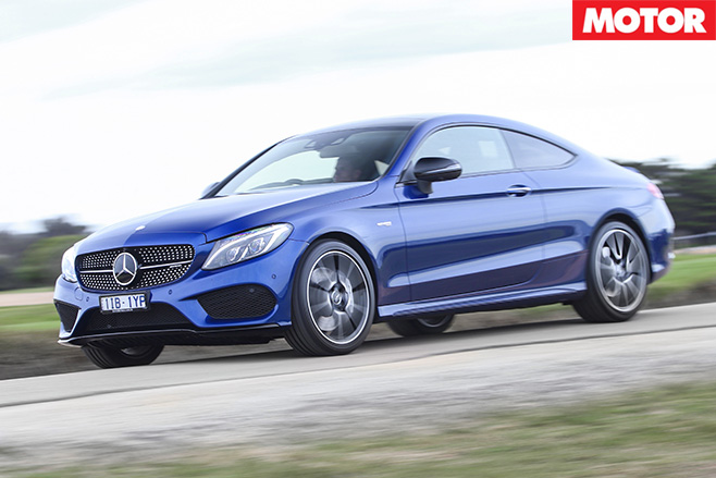 2016 Mercedes-AMG C43 driving