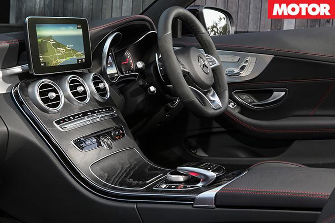 2016 Mercedes AMG C43 interior
