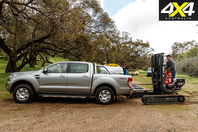 2016 ford ranger review 4x4 load and tow test comparison. Black Bedroom Furniture Sets. Home Design Ideas