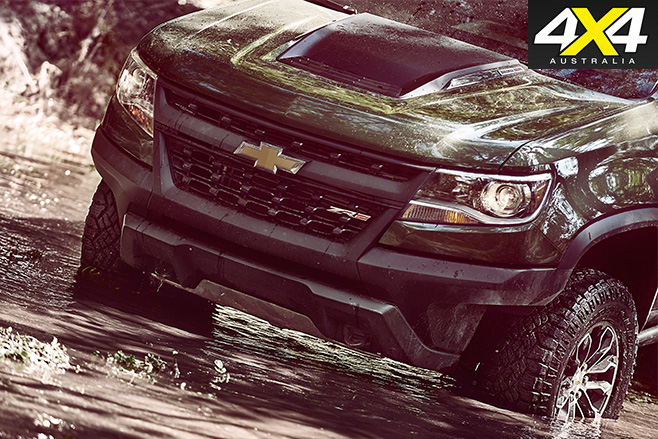 Chevrolet Colorado ZR2 front