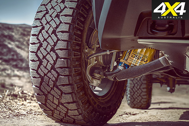 Chevrolet Colorado ZR2 suspension