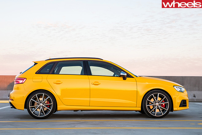 Audi -S3-driving -side