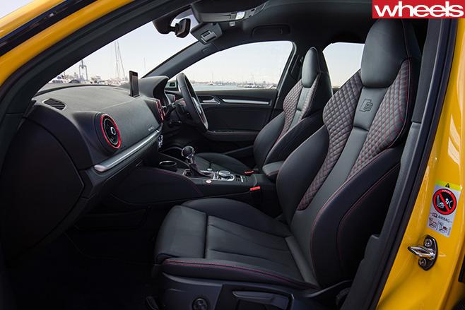 Audi -S3-interior
