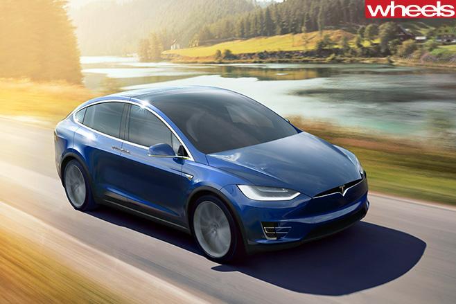 2017-Tesla -Model -X
