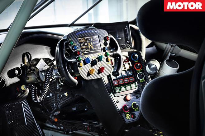 2017 Porsche 911 RSR interior