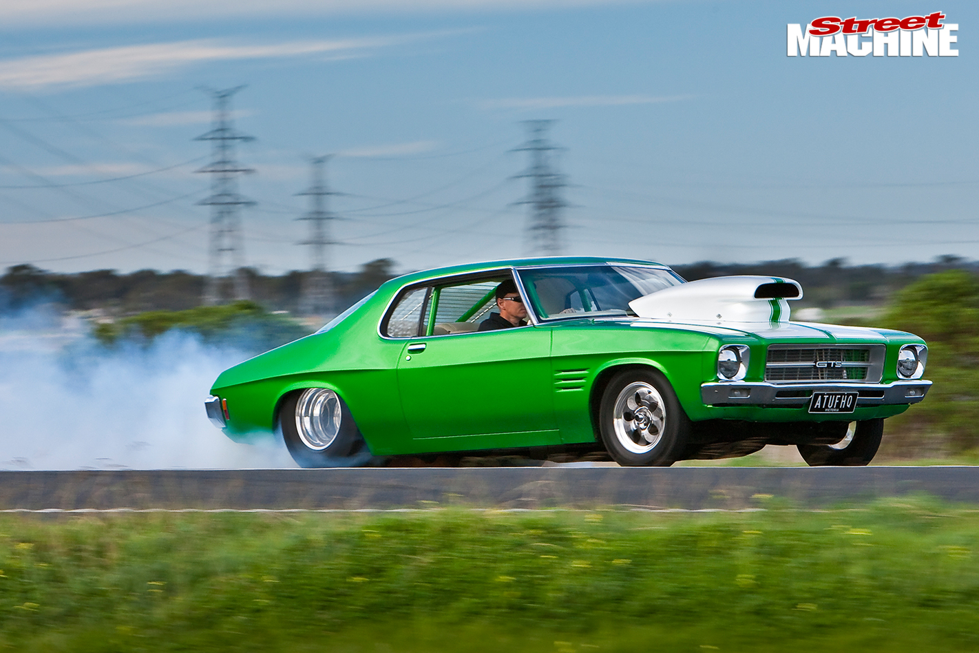 Holden -hq -burnout