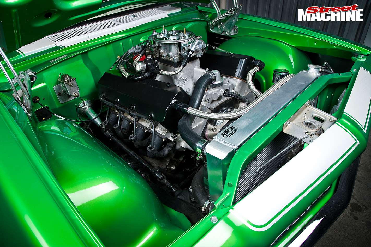 Holden -hq -engine -bay