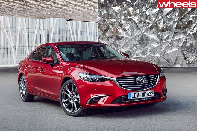 Mazda 6-front