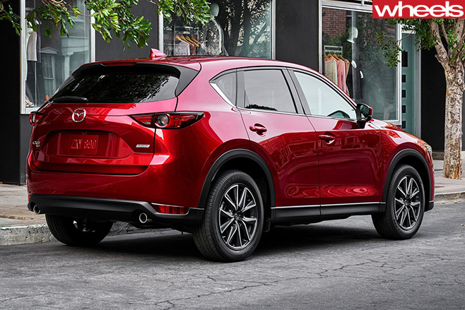 Mazda -CX-5-rear -side