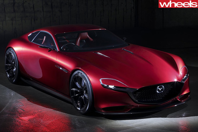 Mazda -RX-Vision -concept -top -side