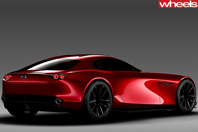 Mazda RX Vision concept rear side