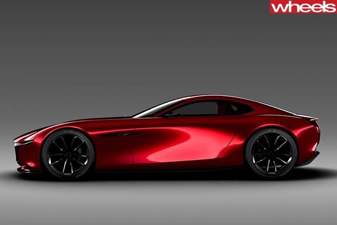 Mazda RX-Vision concept side