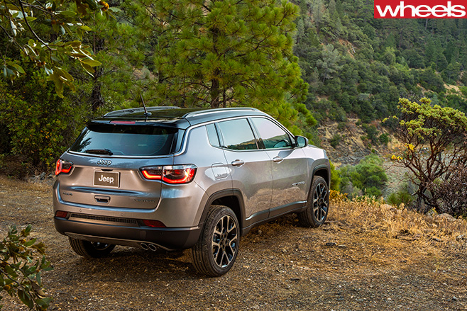 2017-Jeep -Compass -rear -side