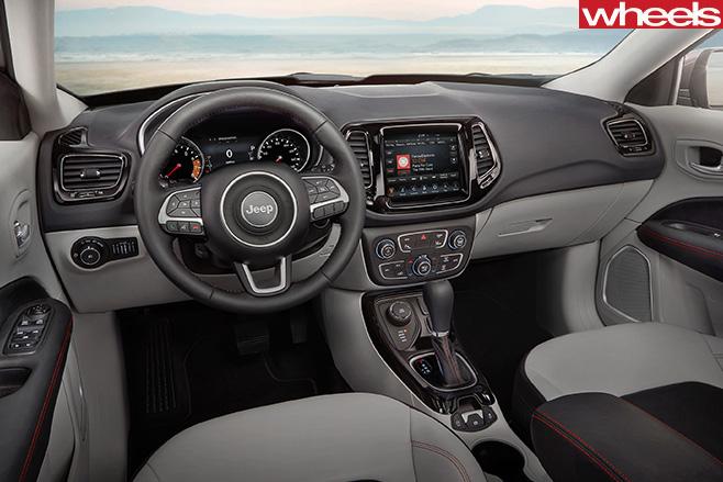 2017-Jeep -Compass -interior