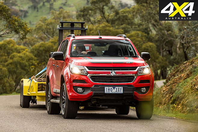 4x4 Load And Tow Test Comparison 2017 Holden Colorado