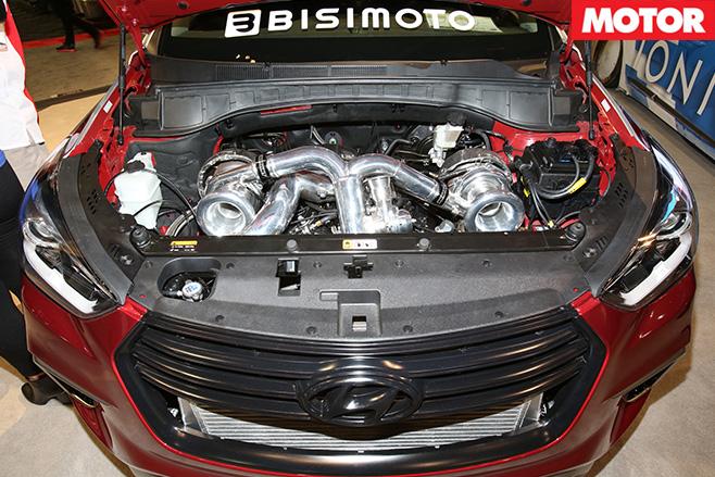 Bisimoto tuned Hyundai -Sante -Fe