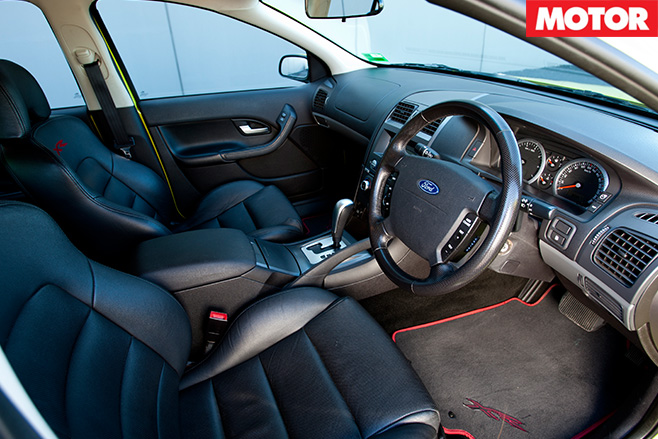 BFalcon XR6 Turbo interior