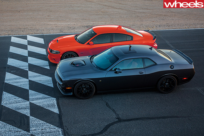 Dodge -Challenger -and -Dodge -Charger -top -side