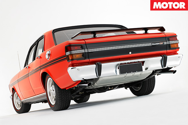 XY GT HO Phase III rear