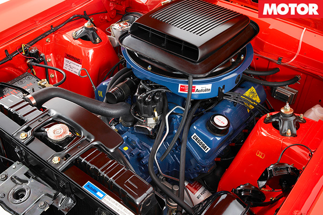 XY GT-HO Phase III engine