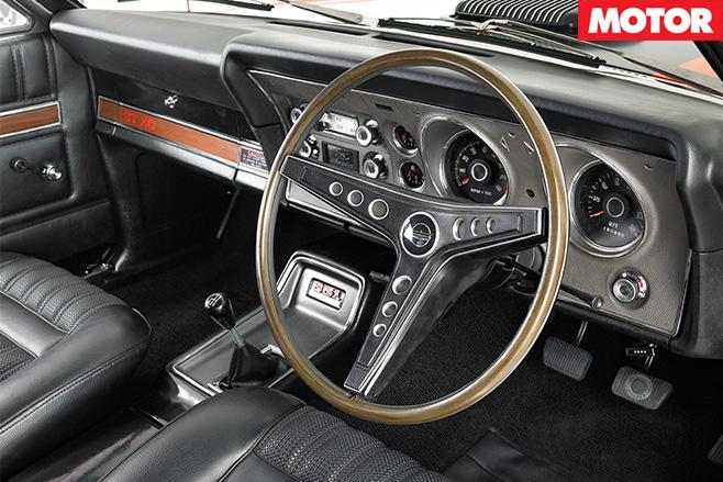 XY GT-HO Phase III interior