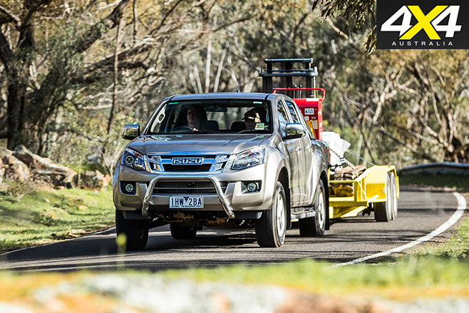 4x4 Load And Tow Test Comparison 2016 Isuzu D Max Review