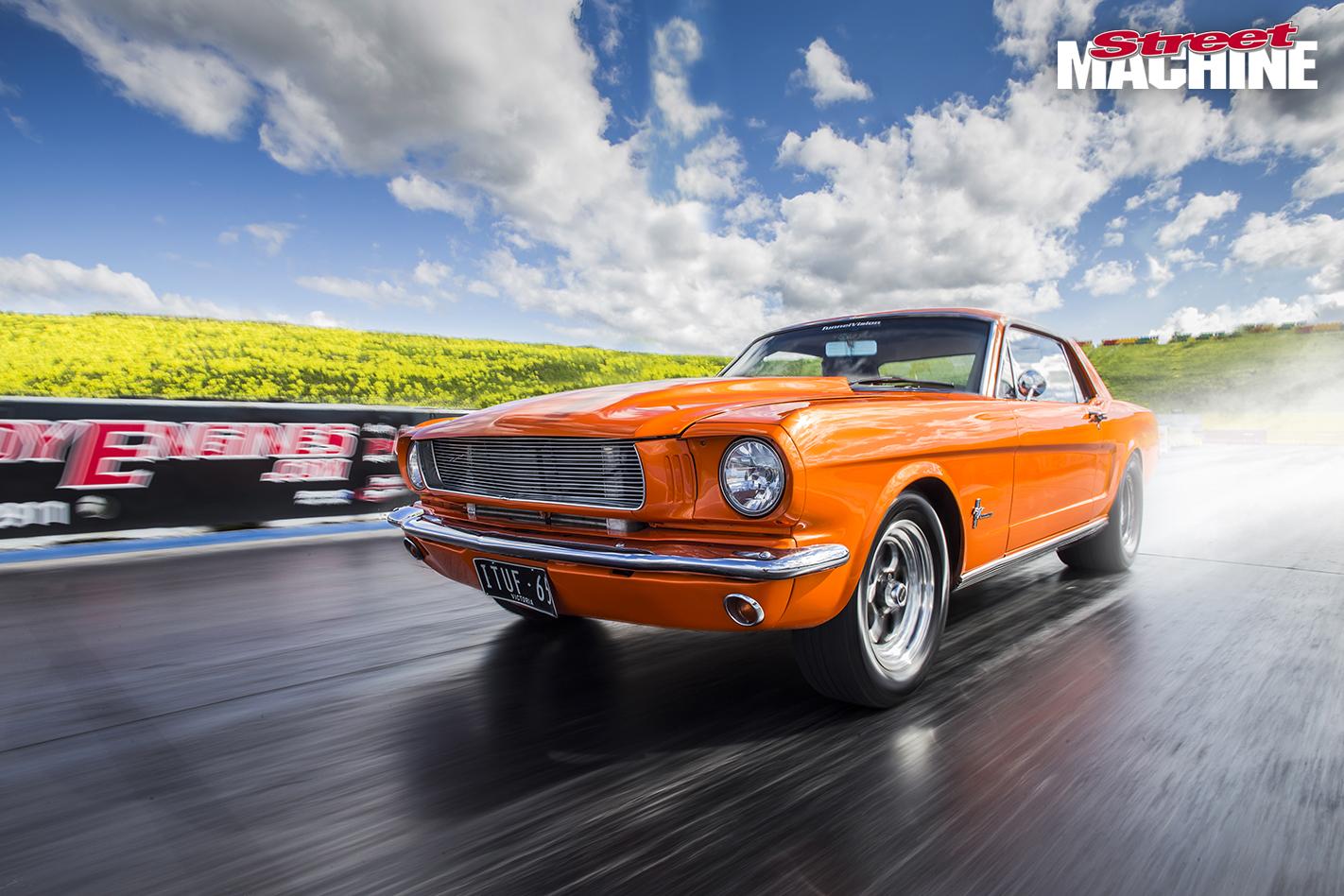 Turbo Six 1965 Mustang