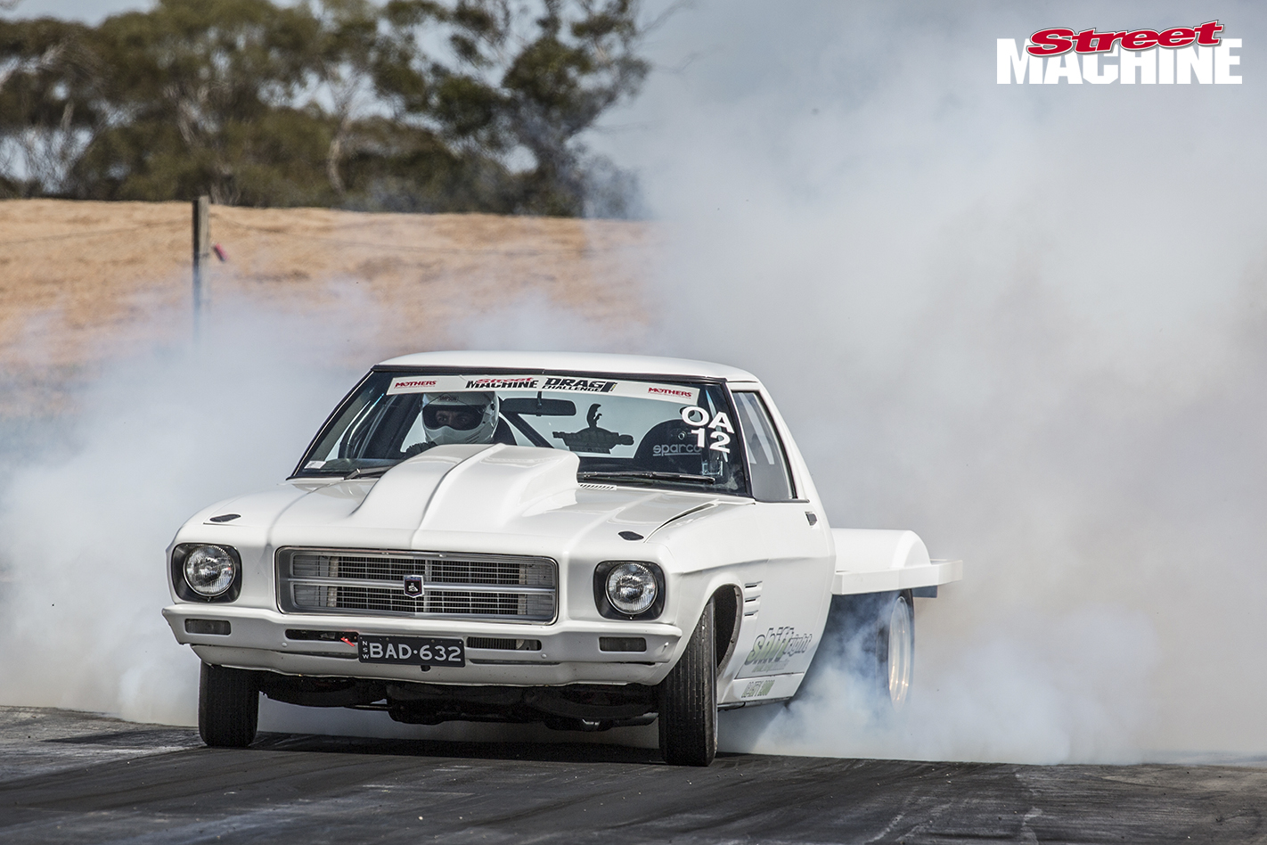 HQ Holden One Tonner Burnout