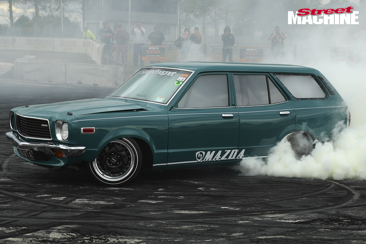 6_Mazda RX3 Wagon Burnout For Web