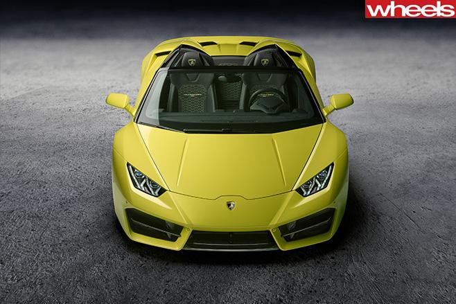 Lamborghini -Huracan -Spyder -front