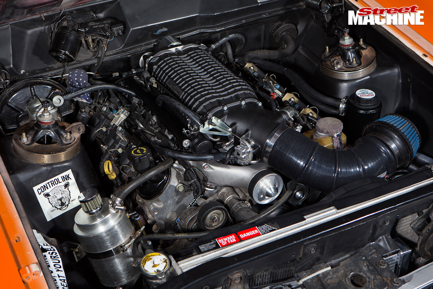 Ford -falcon -xy -drifter -engine -bay