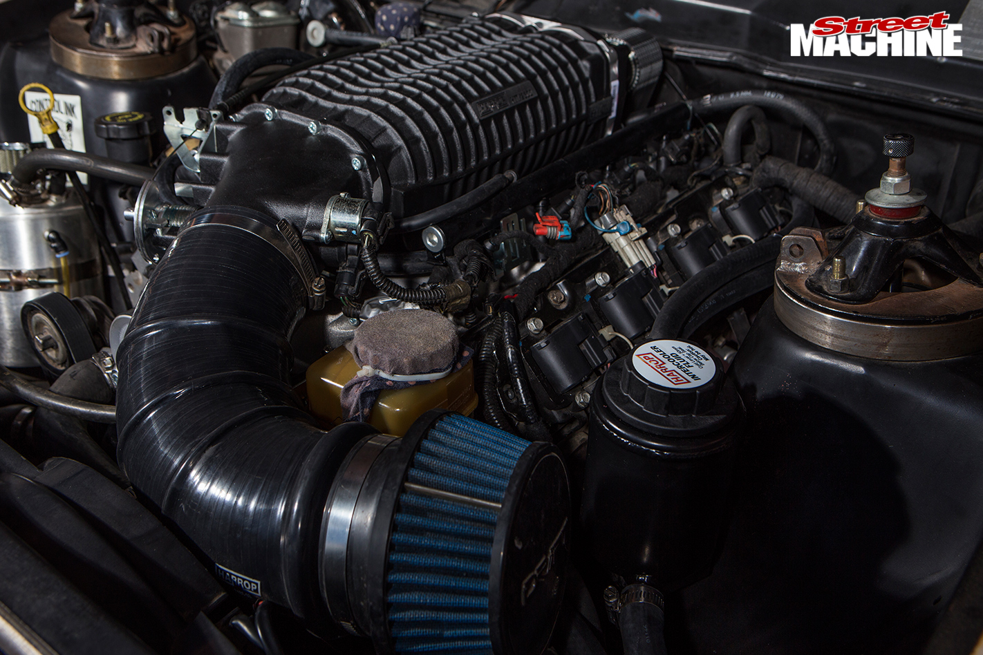 Ford -falcon -xy -drifter -engine -blower