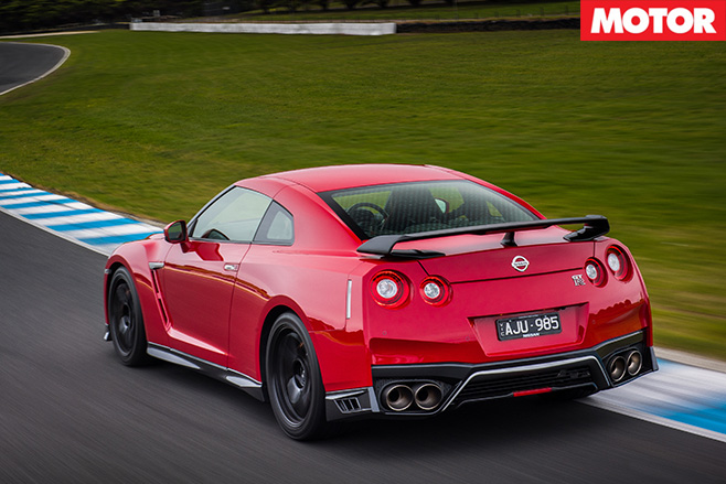 2017 Nissan GT R Track Edition Rear