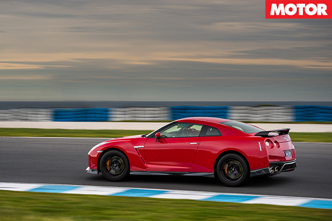 2017 Nissan GT-R Track Edition side