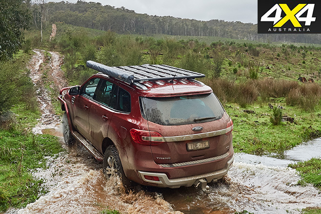 ARB Everest rear driving