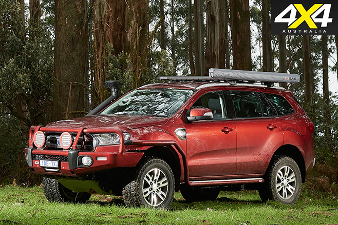 Kitted out Ford Everest