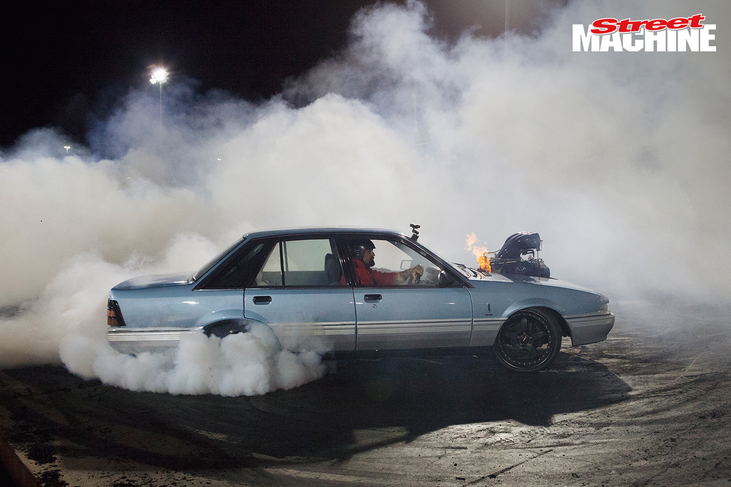 Holden VL Commodore Blown Burnout